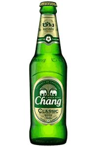 Thai-Bier im Café Patini